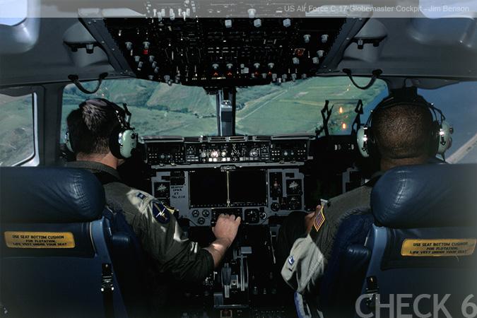 C-17 Cockpit by Jim Benson  C 17 Cockpit